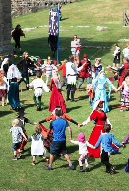 Medieval Reenactment Participation